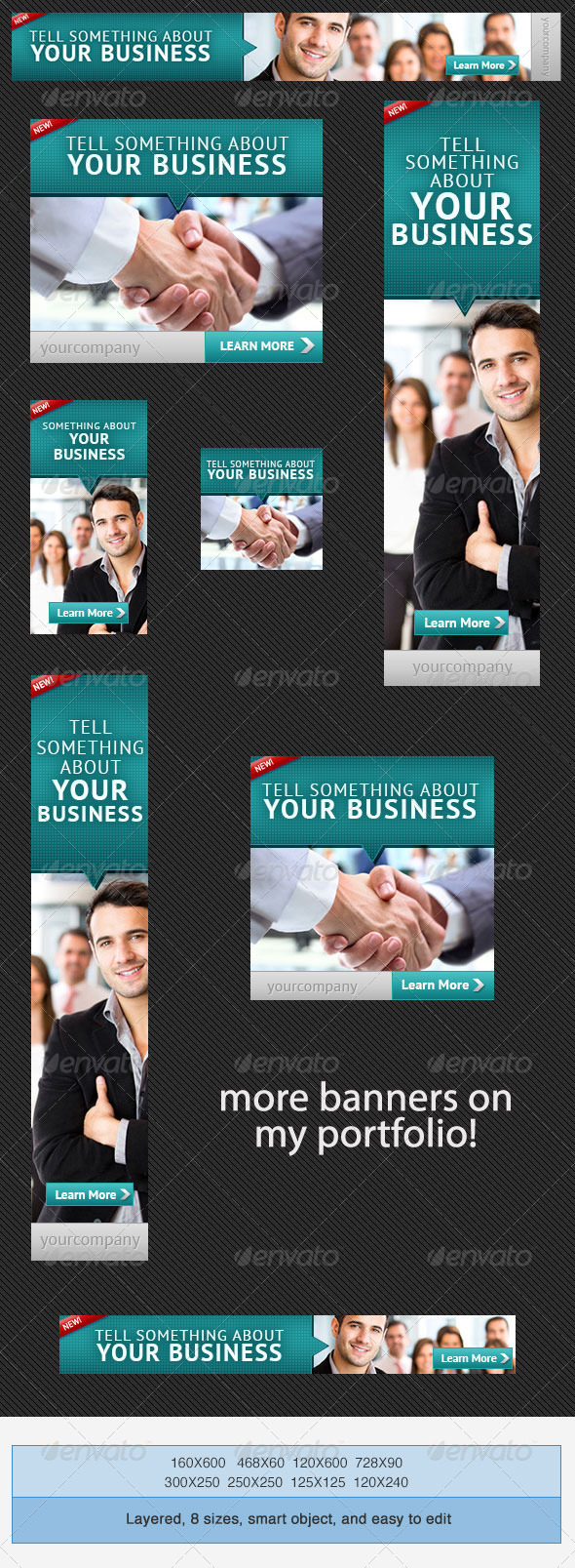 GraphicRiver Corporate PSD Banner Ad Template 3 4058071