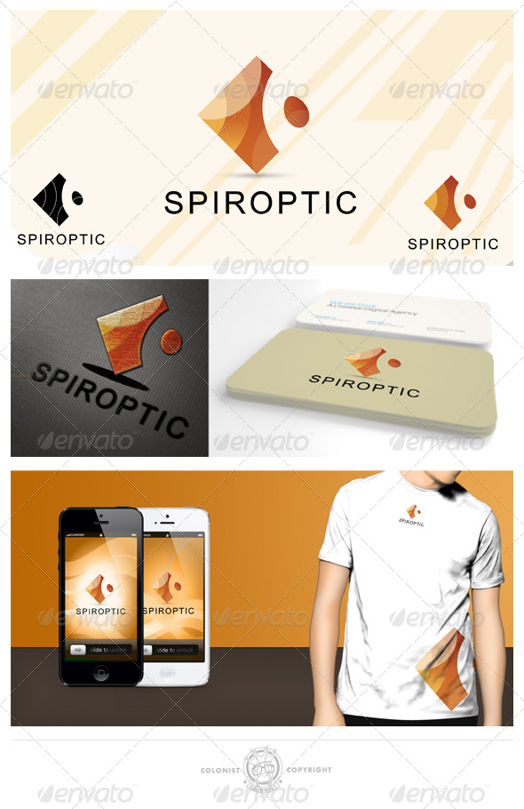 GraphicRiver Spiroptic Logo 4050909