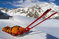 rescue emergency sled on mountain - PhotoDune Item for Sale
