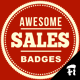 Vintage Sales Badges - GraphicRiver Item for Sale