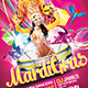 Mardi Gras / Carnival Flyer Template - GraphicRiver Item for Sale
