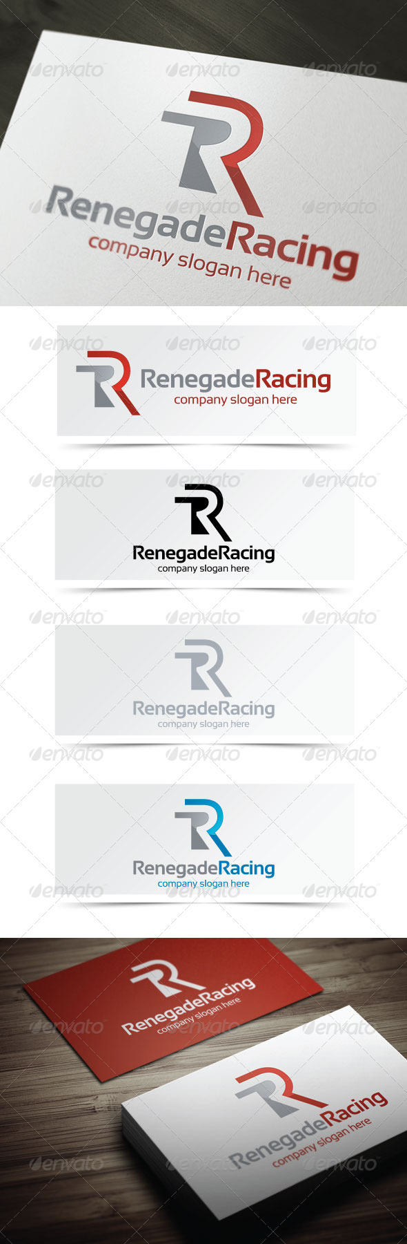 GraphicRiver Renegade Racing 4135351