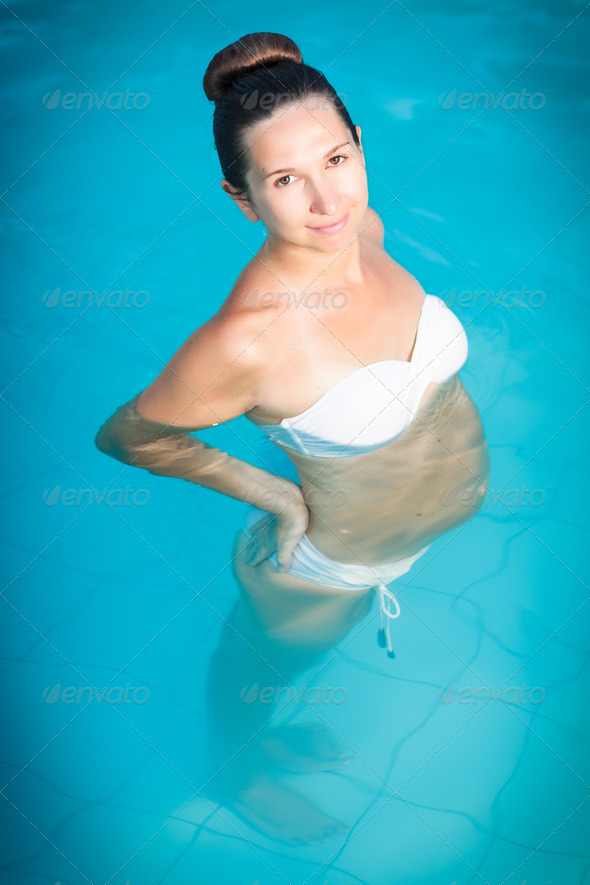 Pregnant woman - Stock Photo - Images