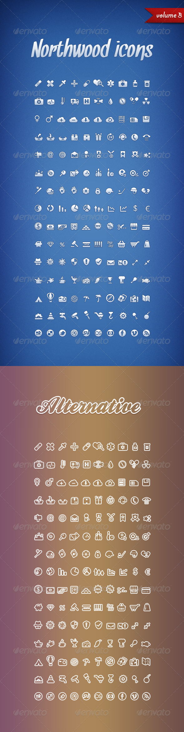 Northwood Icons Volume 3 - Web Icons