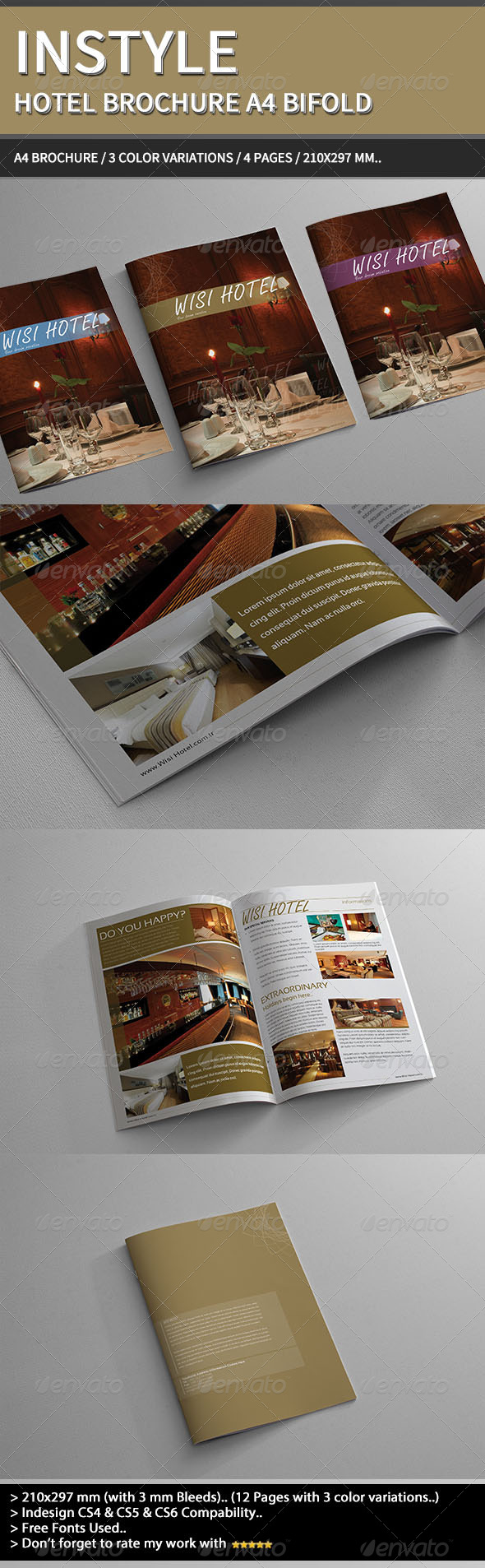 GraphicRiver InStyle Hotel Brochure A4. 4137727