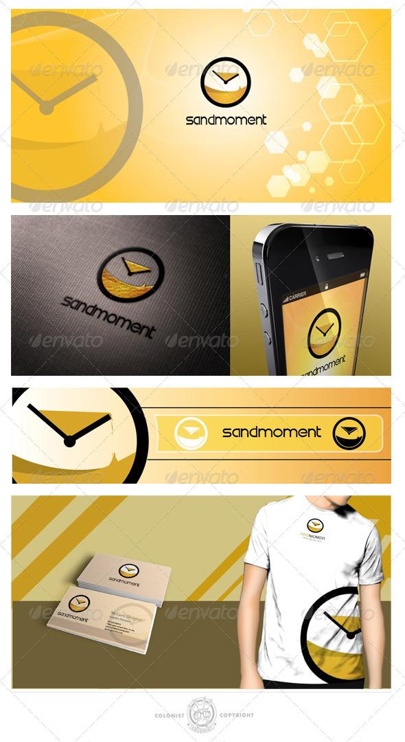GraphicRiver Sandmoment Logo 4050897