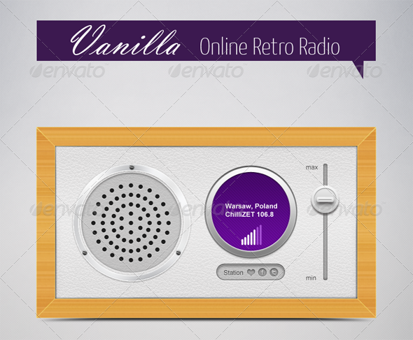GraphicRiver Vanilla Online Retro Radio 4138940