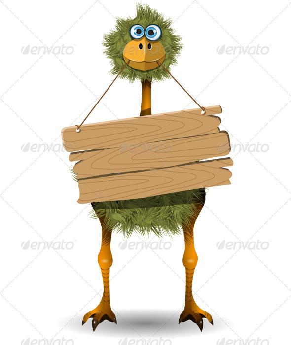 GraphicRiver Ostrich 4140146