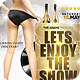 Lets Enjoy The Show Party Flyer Poster Template - GraphicRiver Item for Sale