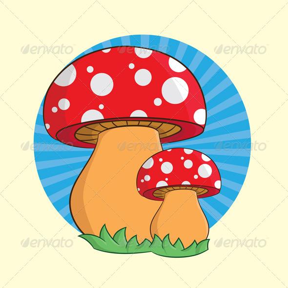 GraphicRiver Mushroom 4140363