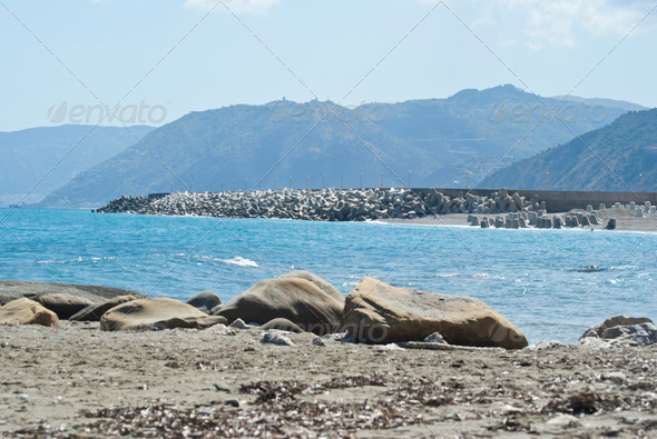 PhotoDune Brolo beach Messina Sicily 4141331