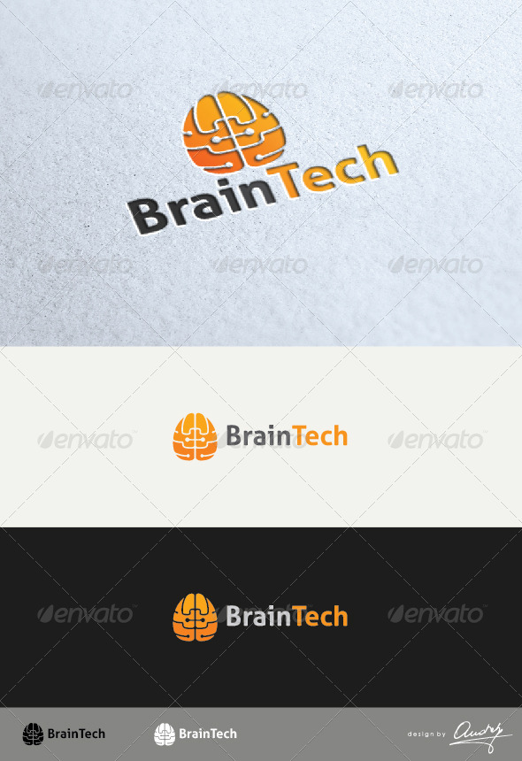 GraphicRiver Brain Tech 4142510