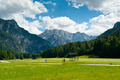 Cycling in Planica Valley - PhotoDune Item for Sale