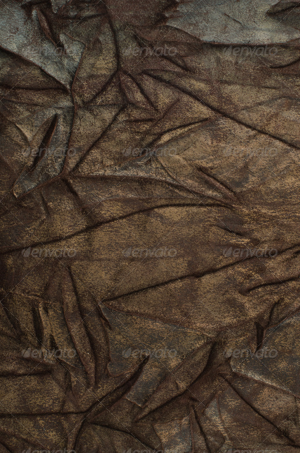 Brown leather - Stock Photo - Images