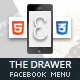 Drawer Mobile Retina | HTML5 &amp;amp; CSS3 And iWebApp - ThemeForest Item for Sale