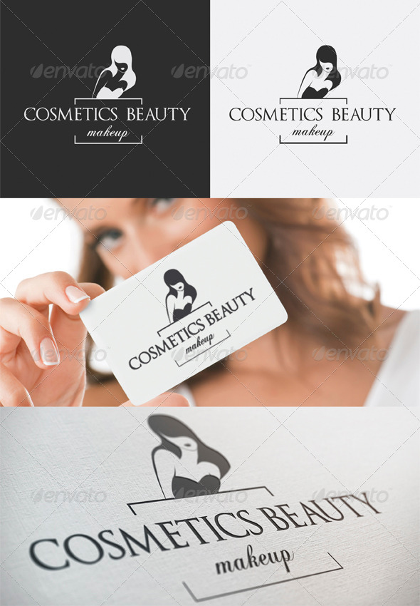GraphicRiver Cosmetics Beauty Logo 4070758