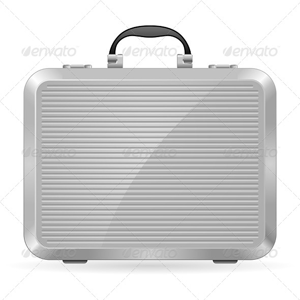 GraphicRiver Silver Briefcase 4145680