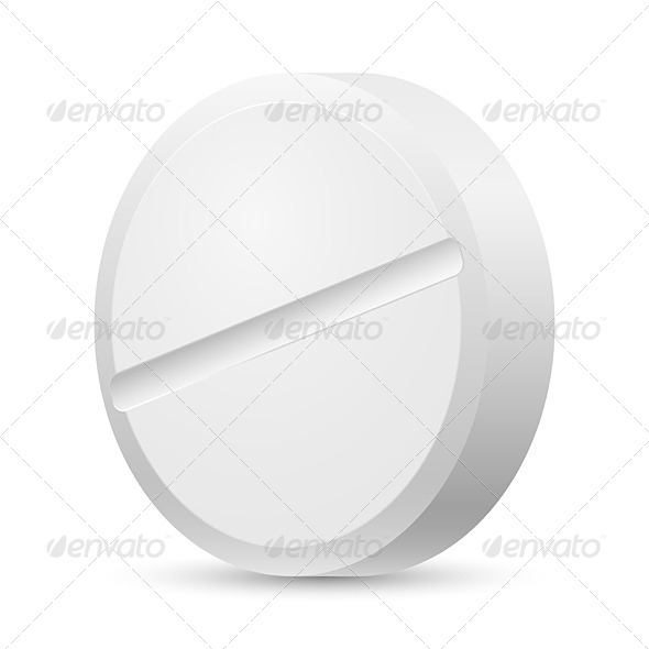 GraphicRiver Realistic White Tablet 4147148