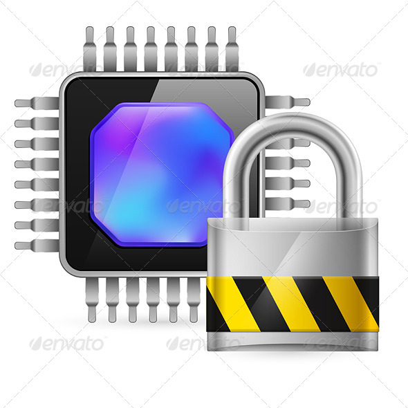 GraphicRiver Chip and Lock 4147805