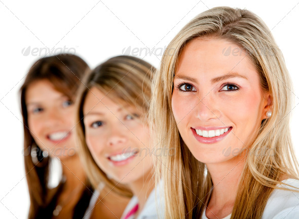 Stock Photo - PhotoDune Group of women 448440