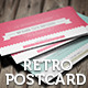 Retro Invitation Postcard - GraphicRiver Item for Sale