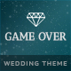 Game Over - Responsive Wedding Event Planning - ThemeForest Item for Sale