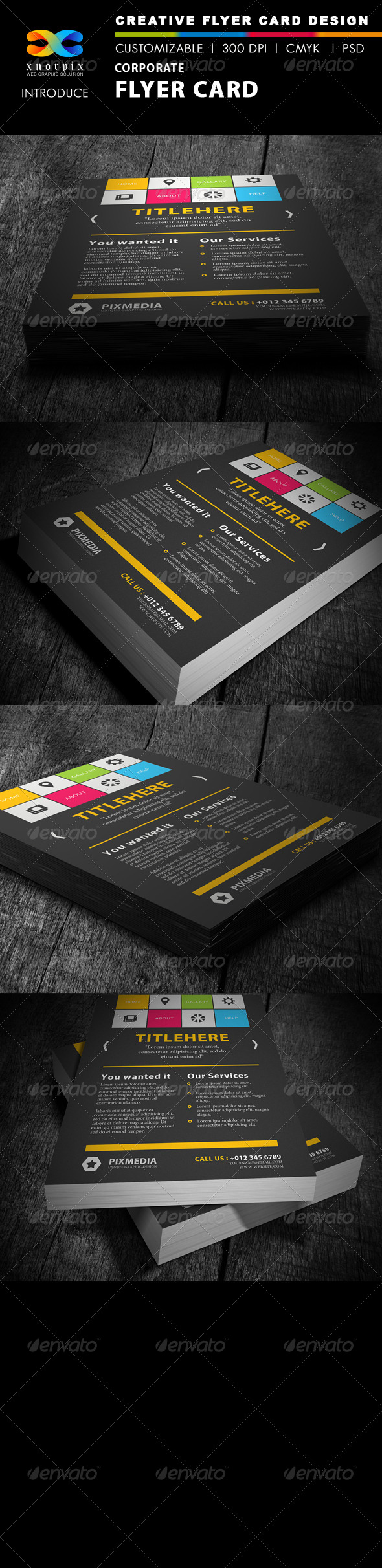 GraphicRiver Corporate Flyer 4018731