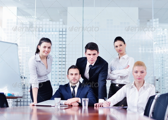 PhotoDune business people in a meeting at office 4151161