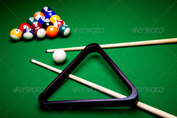 PhotoDune Billiard balls pool 4166146
