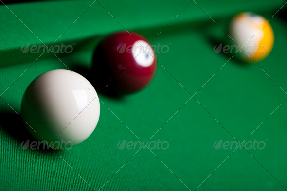 PhotoDune Snooker player 4166154