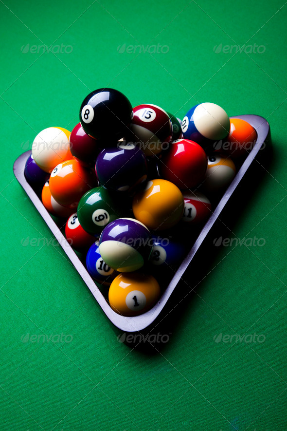PhotoDune Billiard game 4166183