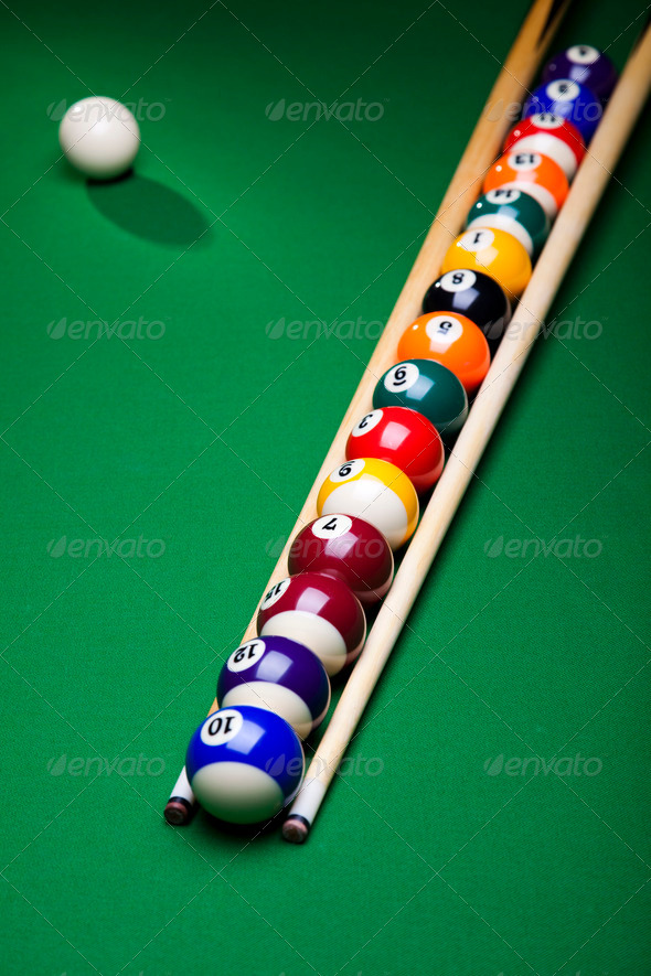 PhotoDune Snooker player 4166115