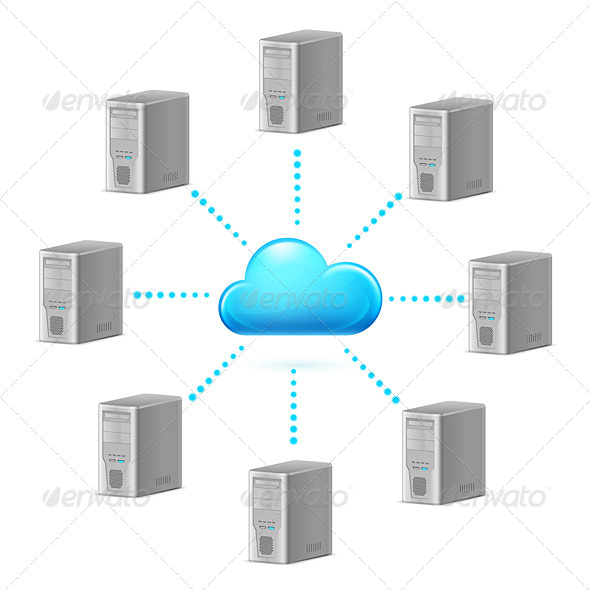 GraphicRiver Cloud Computing 4150947