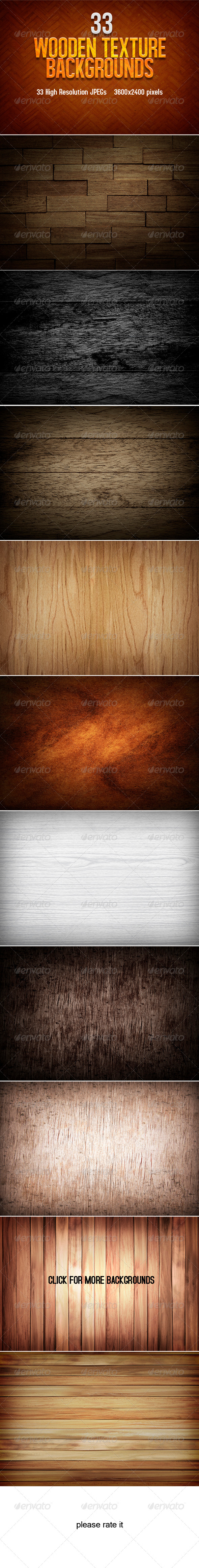 Wooden Texture Backgrounds - Miscellaneous Backgrounds