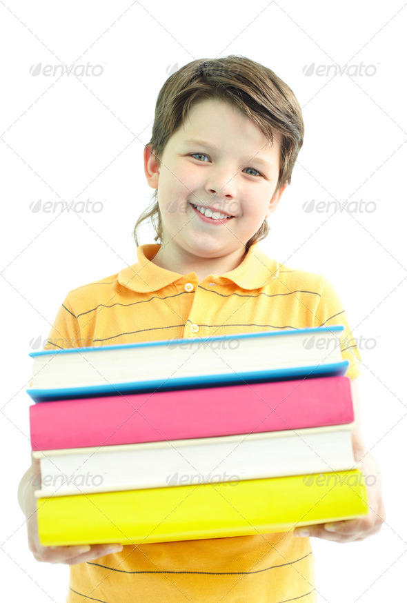 Library goer - Stock Photo - Images