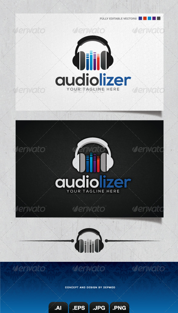 GraphicRiver Audiolizer Logo 4156024