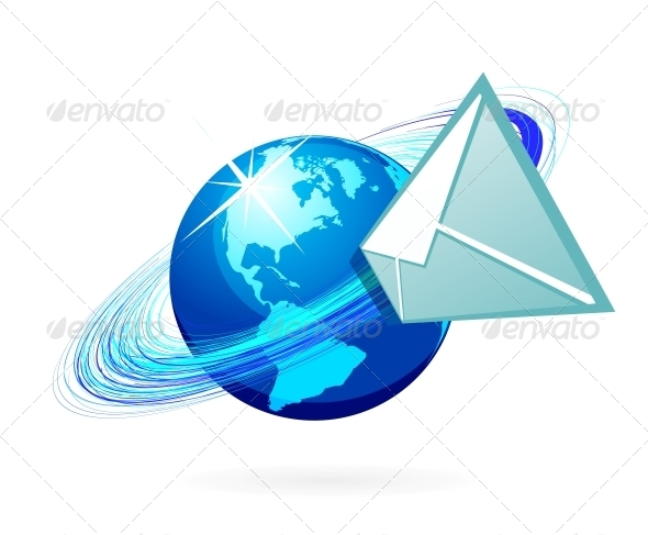 GraphicRiver Mail Icon 4156198