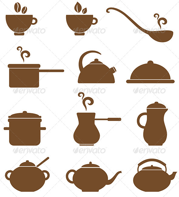 GraphicRiver Kitchen Icons 4156202