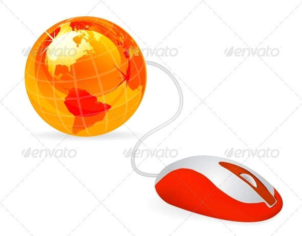 GraphicRiver Modern Computer Mouse 4156239