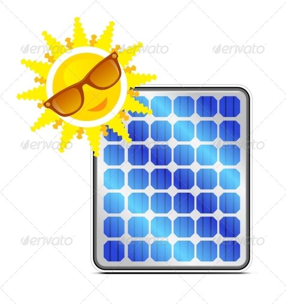 GraphicRiver Solar Power Panel 4156484