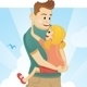 Father and Daughter - GraphicRiver Item for Sale