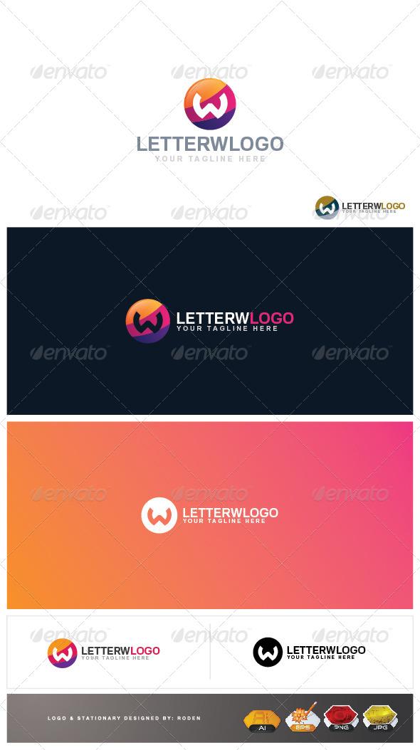 GraphicRiver W Letter Logo 4156662