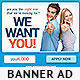 Corporate PSD Banner Ad Template 4 - GraphicRiver Item for Sale