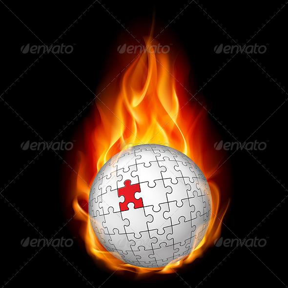 GraphicRiver Puzzle Sphere 4157270