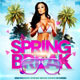 Spring Break Bash Flyer - GraphicRiver Item for Sale