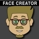 Cartoon Character Creator / Animator (Male Heads) - VideoHive Item for Sale