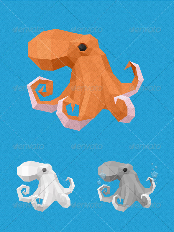 GraphicRiver Geometric Octopus 4160741