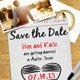 Save The Date Note Invitation - GraphicRiver Item for Sale