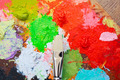 Paintbrush and colors - PhotoDune Item for Sale