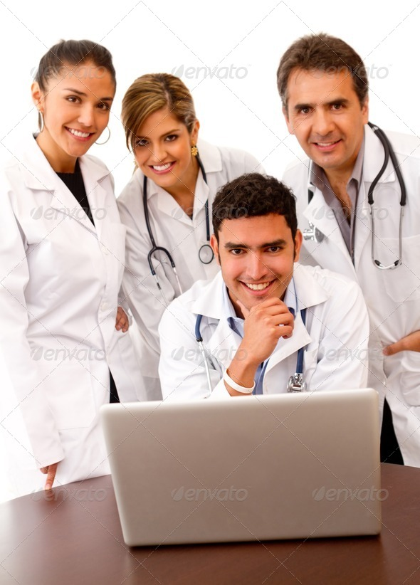Stock Photo - PhotoDune Group of doctors 450414
